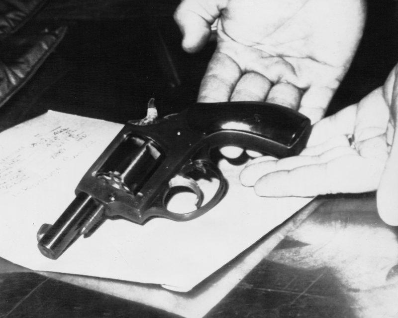 Το περίστροφο με το οποίο δολοφονήθηκε ο Ρόμπερτ Κένεντι.