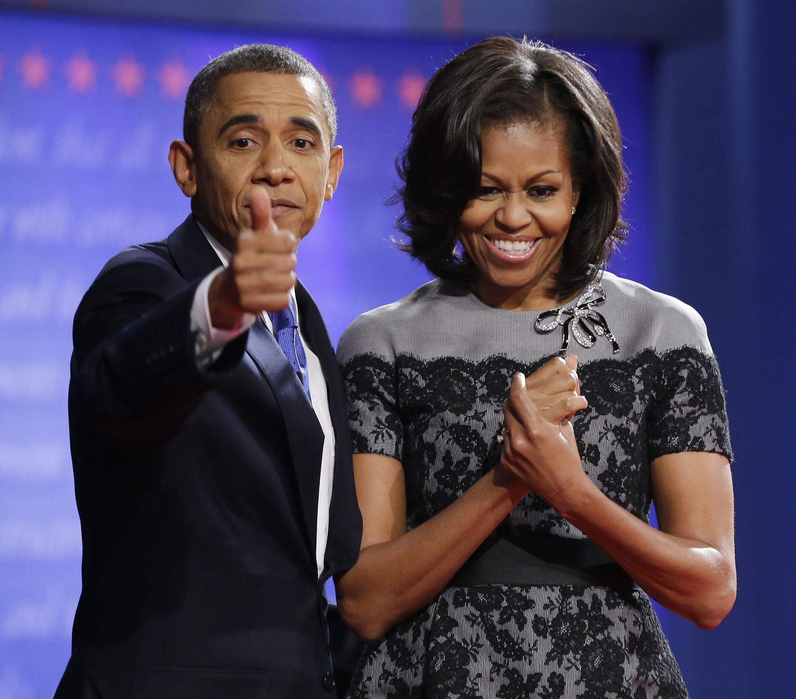 Μισέλ και Μπαράκ Ομπάμα