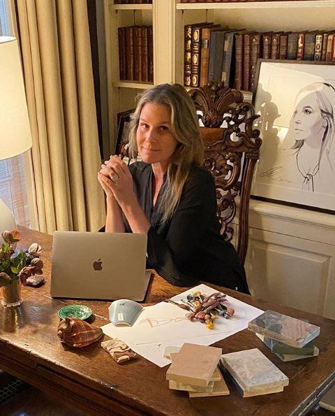 Το γραφείο της Aerin Lauder