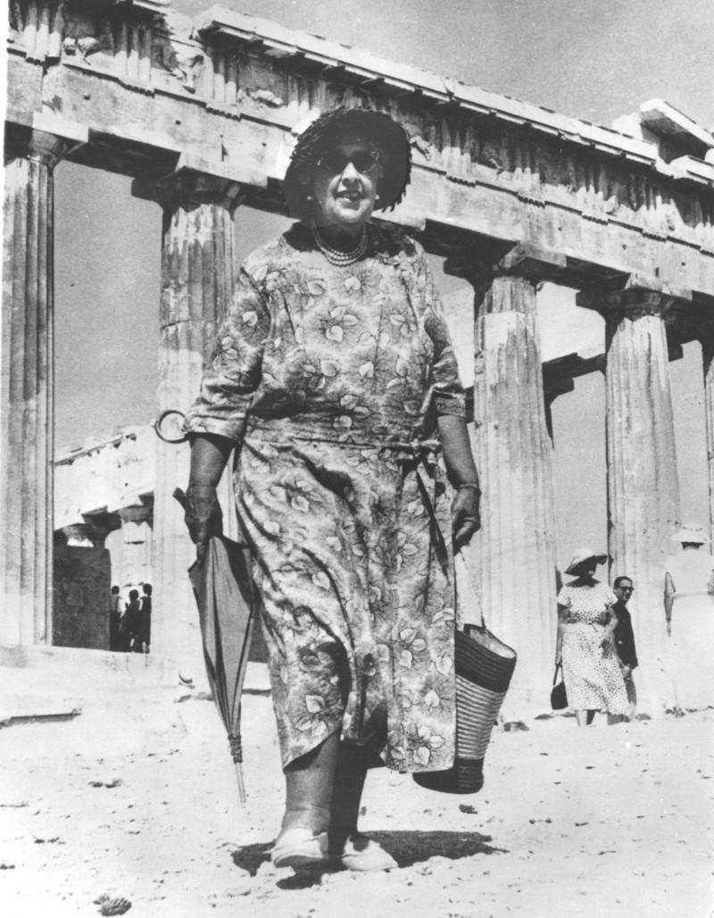 H Αγκάθα Κρίστι είχε επισκεφτεί τον Παρθενώνα το 1958.