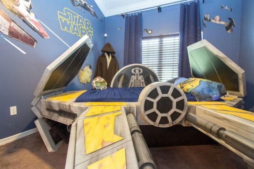 Ένα από τα δωμάτια Star Wars