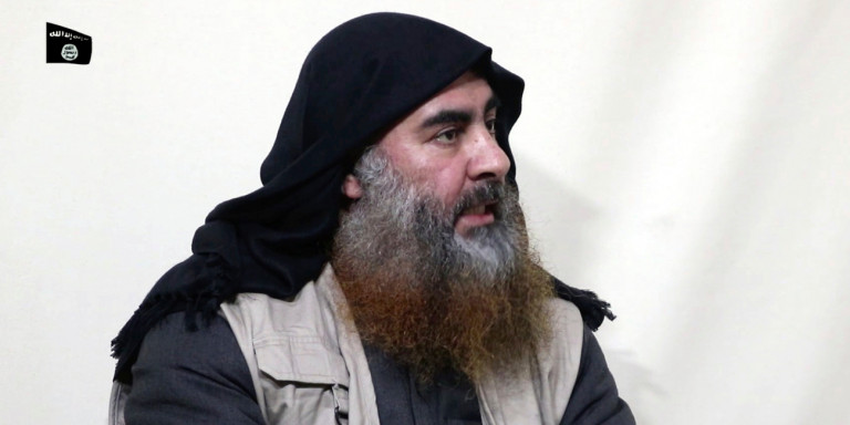 O ηγέτης του ISIS, Αμπού Μπακρ αλ Μπαγκντάντι.