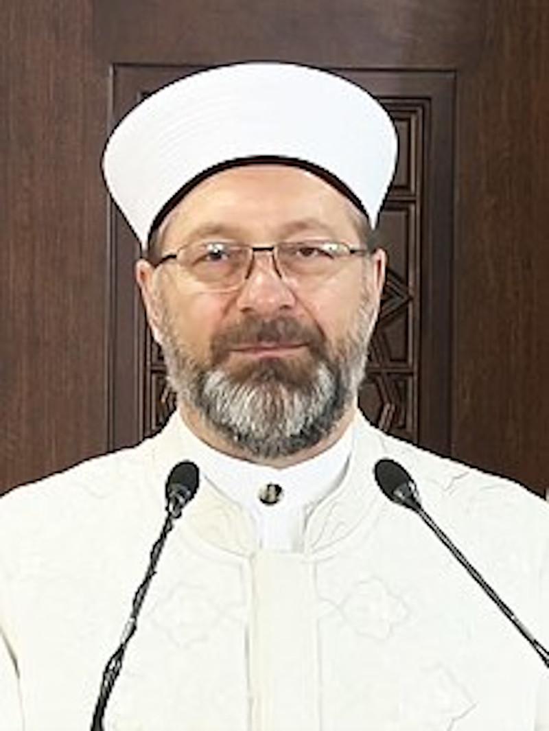 O Διευθυντής Θρησκευτικών Υποθέσεων της Τουρκίας Αλί Ερμπάς