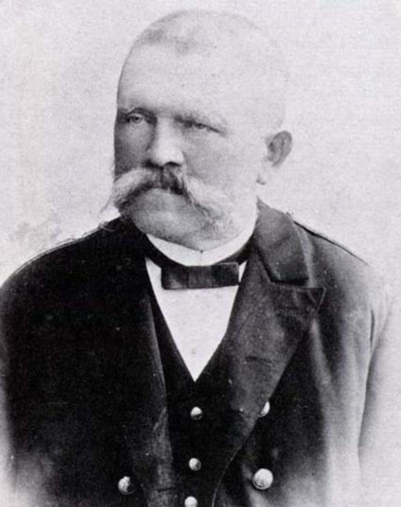 Ο πατέρας του Αδόλφου Χίτλερ, Αλόις σε μια φωτογραφία του 1901.