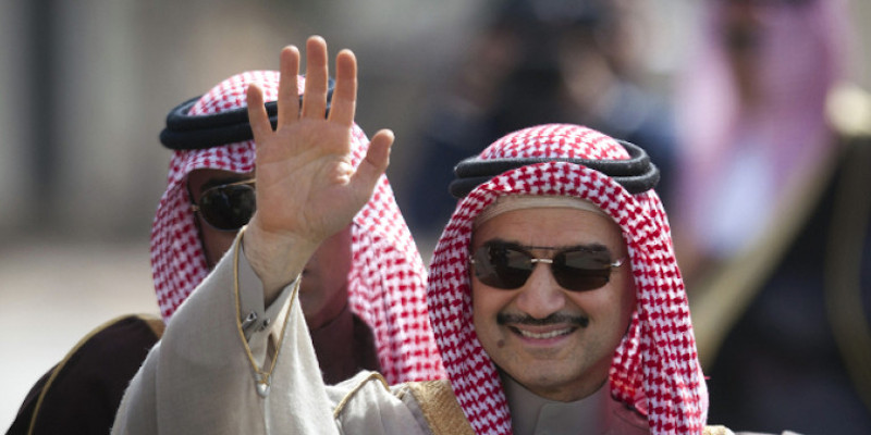 Ο δισεκατομμυριούχος πρίγκιπας Al Waleed bin Talal