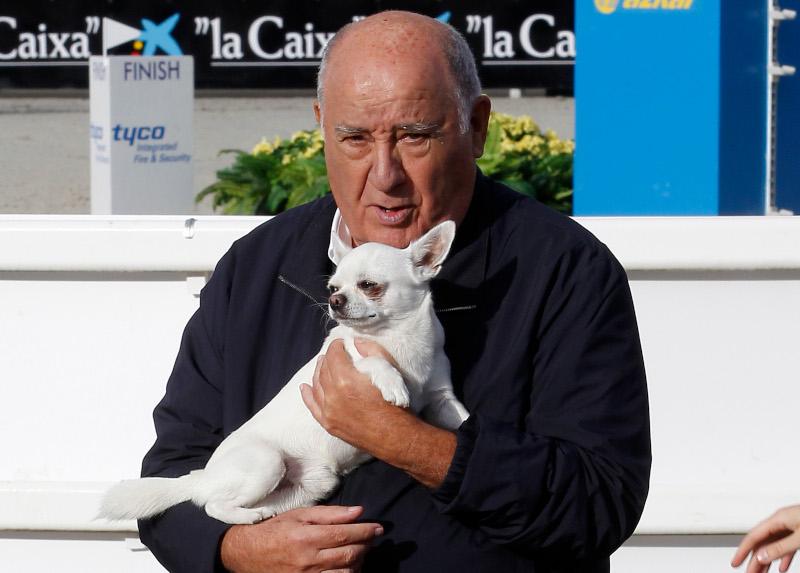 Ο Ισπανός δισεκατομμυριούχος Αμάνθιο Ορτέγκα.