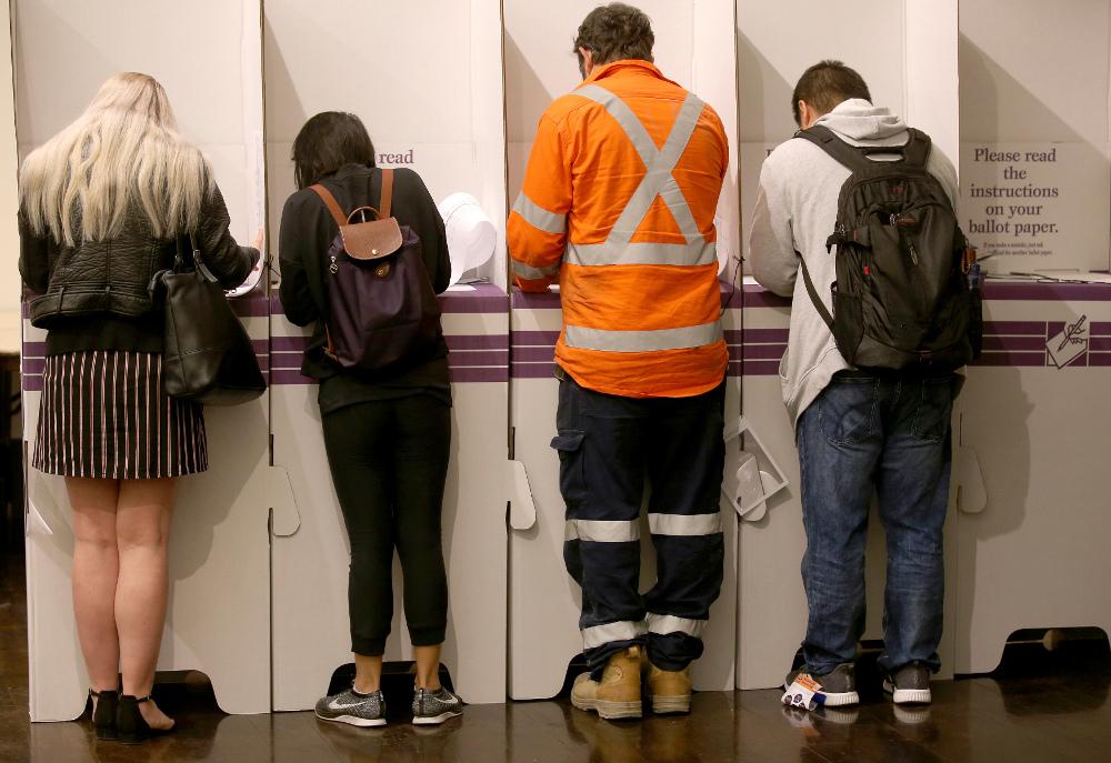 Αυστραλοί ψηφοφόροι