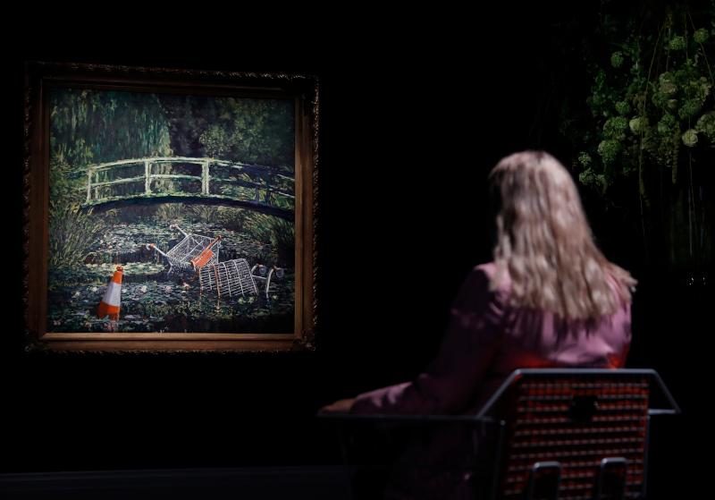 "O Banksy φιλοτέχνησε το ""Show Me the Monet"" το 2005"