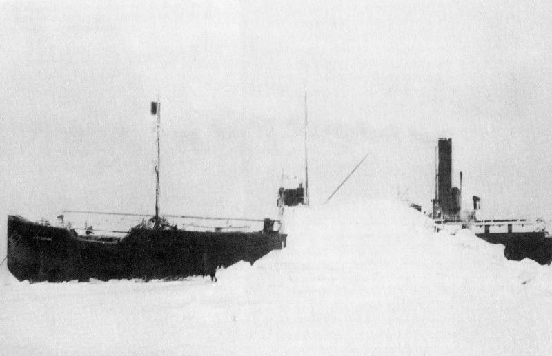 Το Baychimo το 1931.