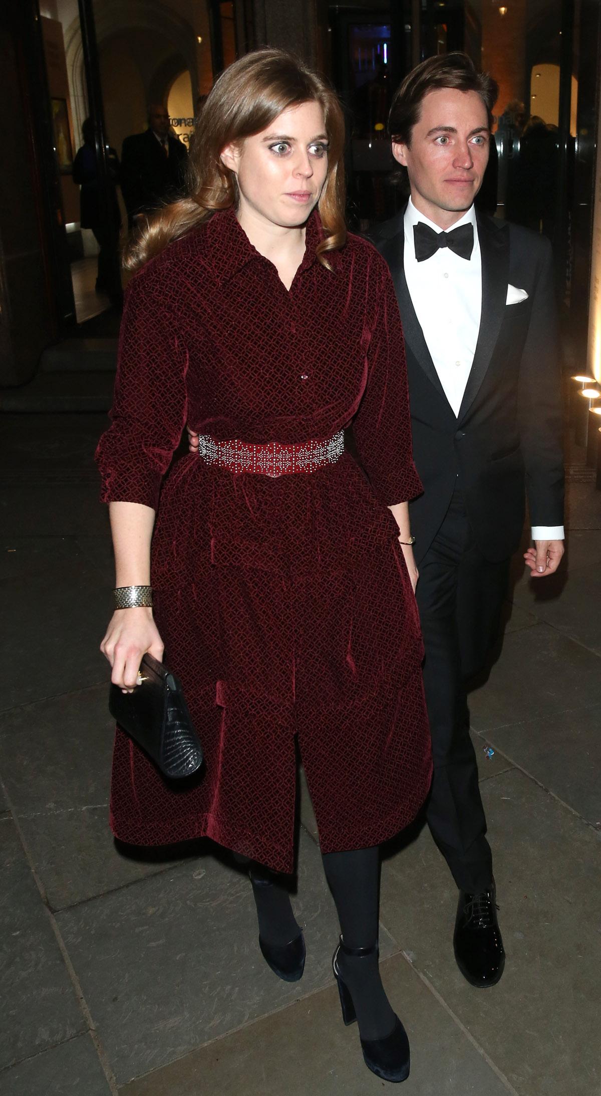 Εντοάρντο Μαπέλι με πριγκίπισσα Βεατρίκη