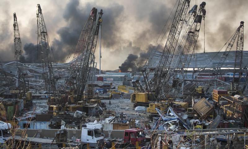2.750 τονοι κατασχεμένου νιτρικού αμμωνίου που ήταν αποθηκευμένοι επί έξι χρόνια με πλημμελή φύλαξη στο λιμάνι της Βηρυτού προκάλεσαν την καταστροφή