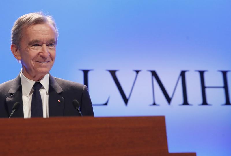 Ο CEO της LVMH Μπερνάρ Αρνό.