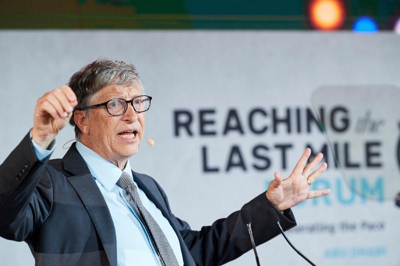Ο συνιδρυτής της Microsoft Μπιλ Γκέιτς.