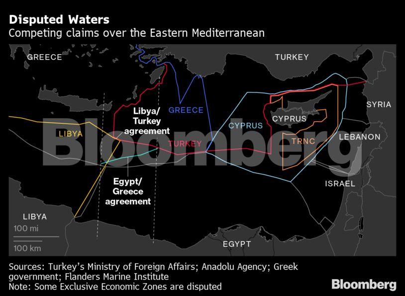Bloomberg και Guardian: Για δύο λόγους Ελλάδα και Τουρκία βρίσκονται στο χείλος μιας σύρραξης