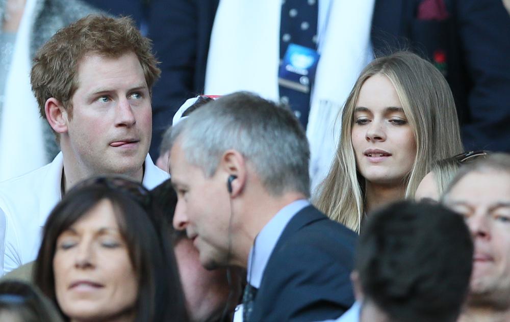 Η Κρεσίντα Μπόνας ήταν ζευγάρι με τον πρίγκιπα Χάρι για αρκετά χρόνια