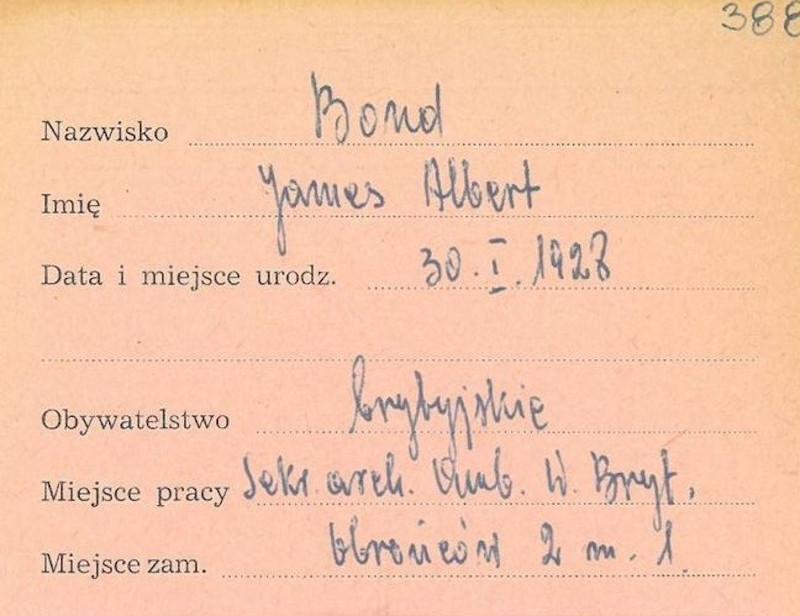 Η αποστολή του γεννημένου στο Ντέβον της Αγγλίας το 1928 Τζέιμς Άλμπερτ Μποντ διήρκεσε λιγότερο από έναν χρόνο