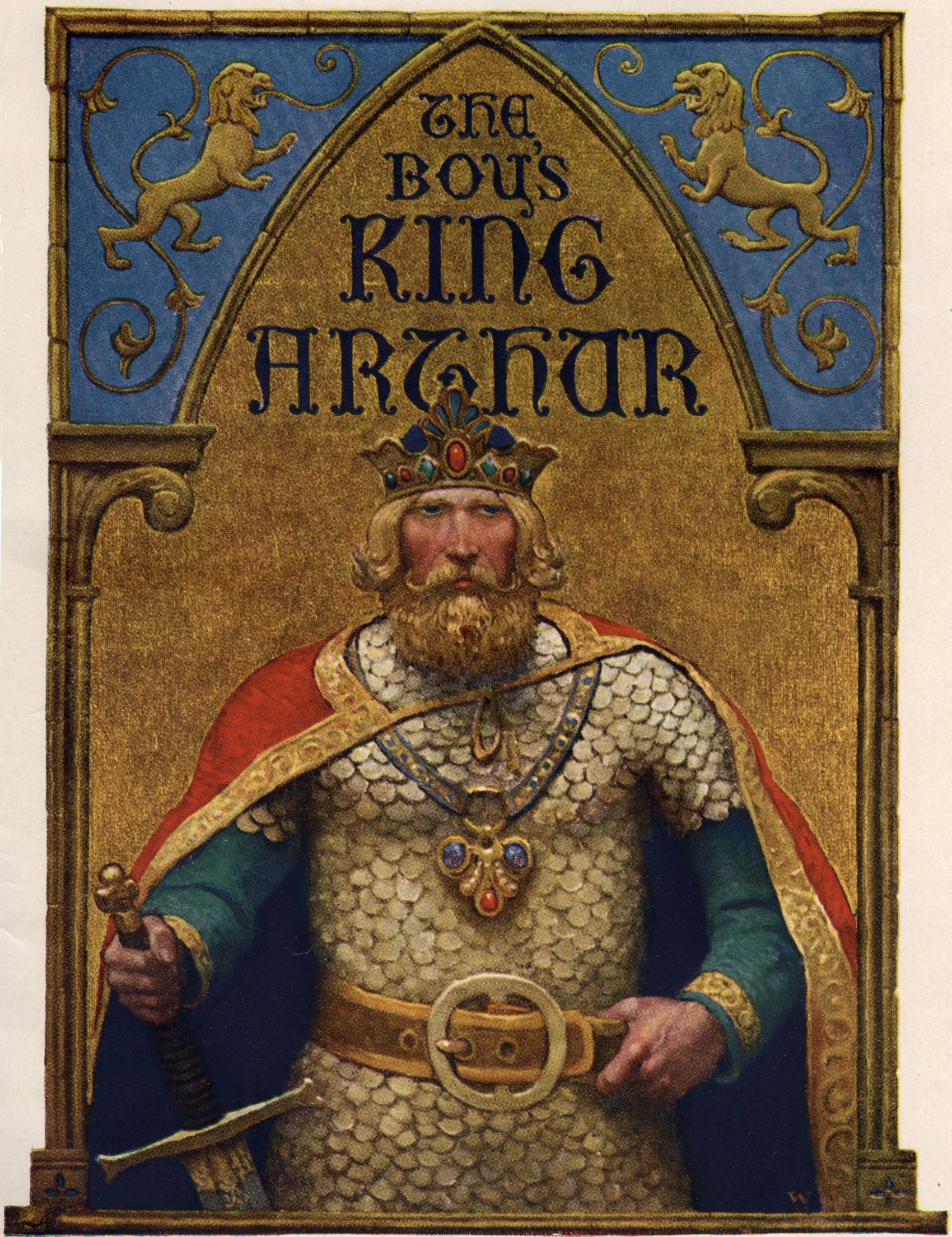 Ο Βασιλιάς Αρθούρος, όπως τον φαντάστηκε ο N.C. Wyeth σε έργο του 1922.