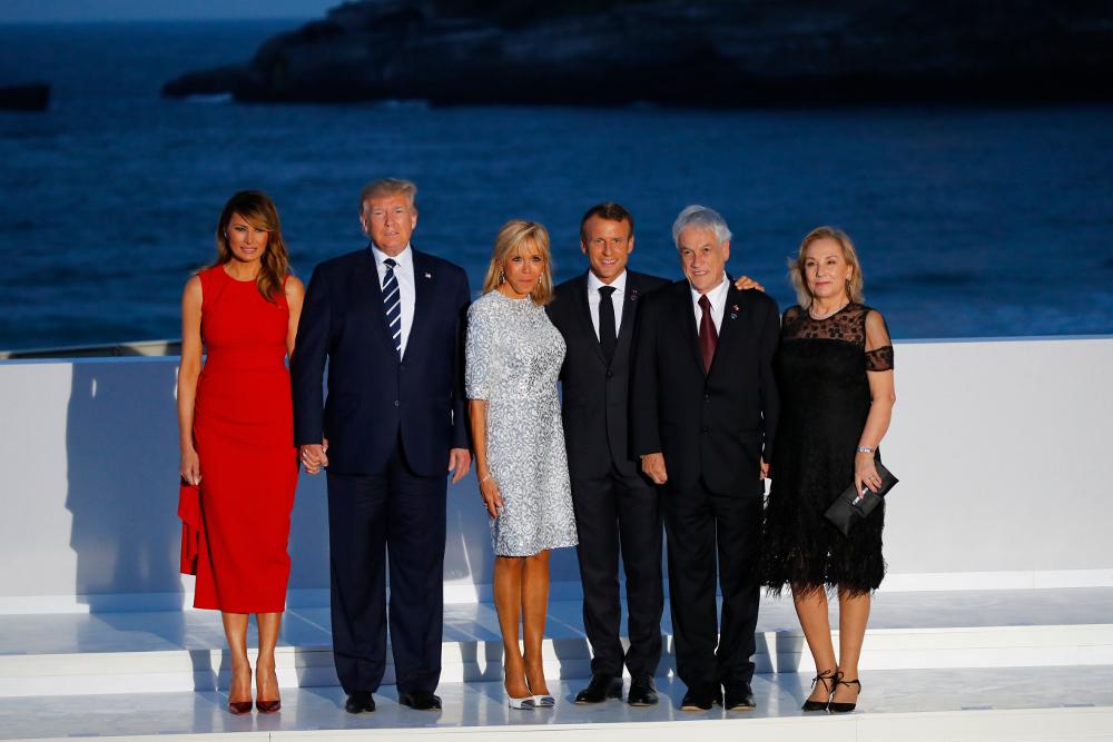 Η «οικογενειακή φωτογραφία» μετά την ολοκλήρωση της Συνόδου Κορυφής G7