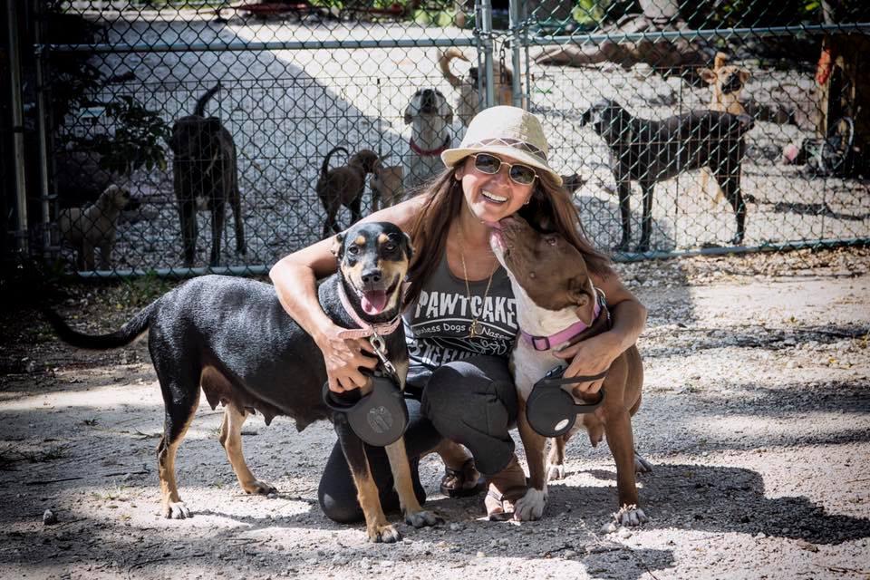 Τυφώνας Dorian: Έβαλε 97 σκυλιά μέσα στο σπίτι της για να τα σώσει και έγινε viral (Photos)