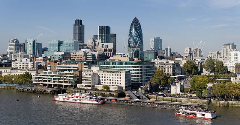 Η οικονομική καρδιά του Λονδίνου.