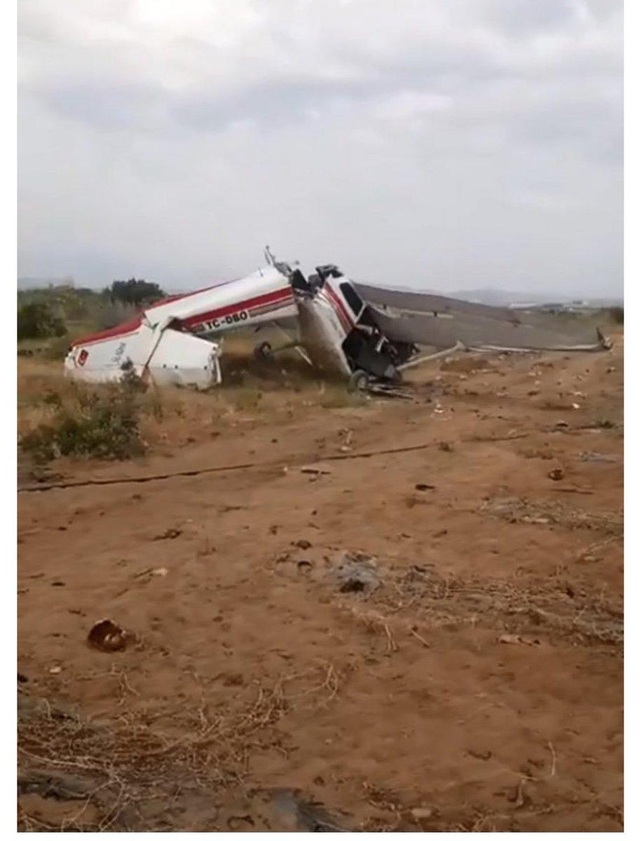 Αεροσκάφος συνετρίβη στην Αττάλεια