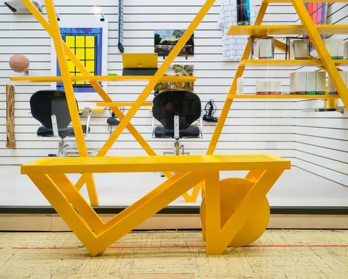 Το κίτρινο κυριαρχεί στη διακόσμηση