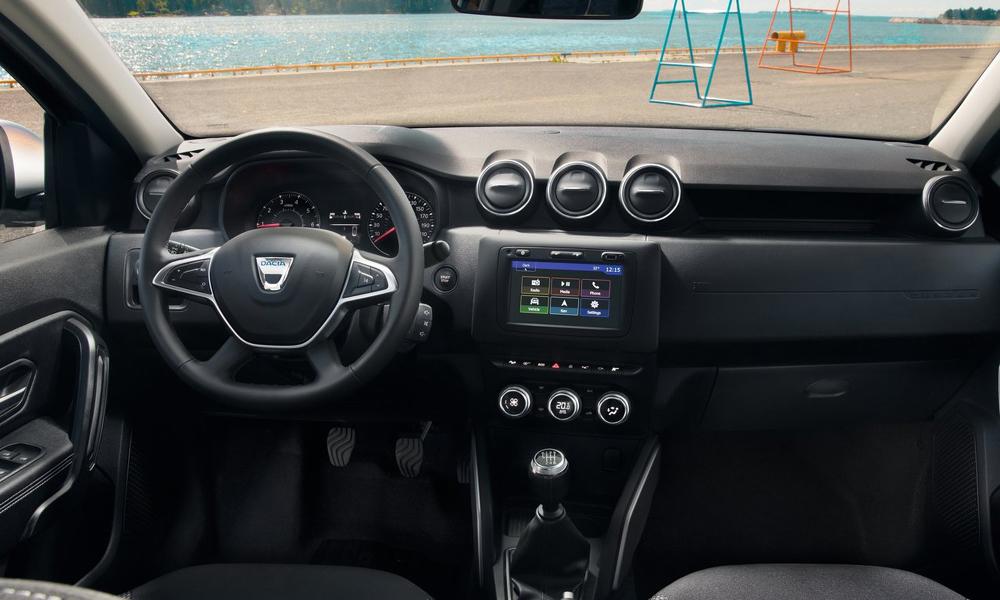 Το σαλόνι του Dacia Duster