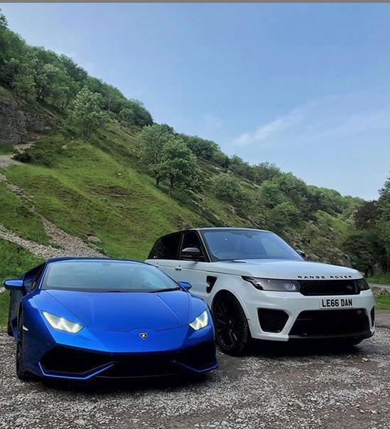 Τα πανάκριβα αυτοκίνητα του Νταν Λεγκ - Το Range Rover κοστίζει πάνω από 80.000 λίρες