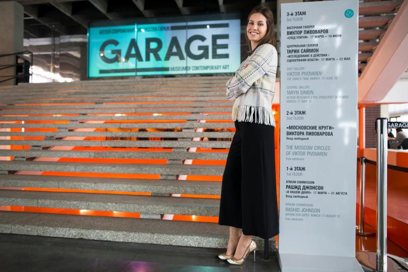 Έχει ιδρύσει το Μουσείο Σύγχρονης Τέχνης της Ρωσίας, με το όνομα Garage