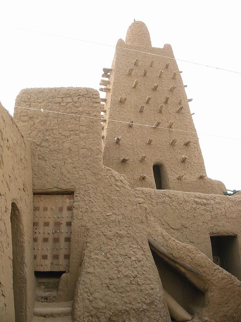 Το τέμενος Τζινγκαρειμπέρ στο Τιμπουκτού, που έχτισε ο Μάνσα Μούσα.