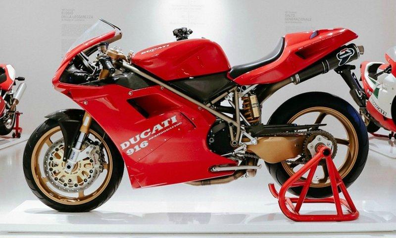 Η μοτοσυκλέτα θα εκτίθεται στο Μουσείο της Ducati μέχρι τις 15 Ιανουαρίου 2020