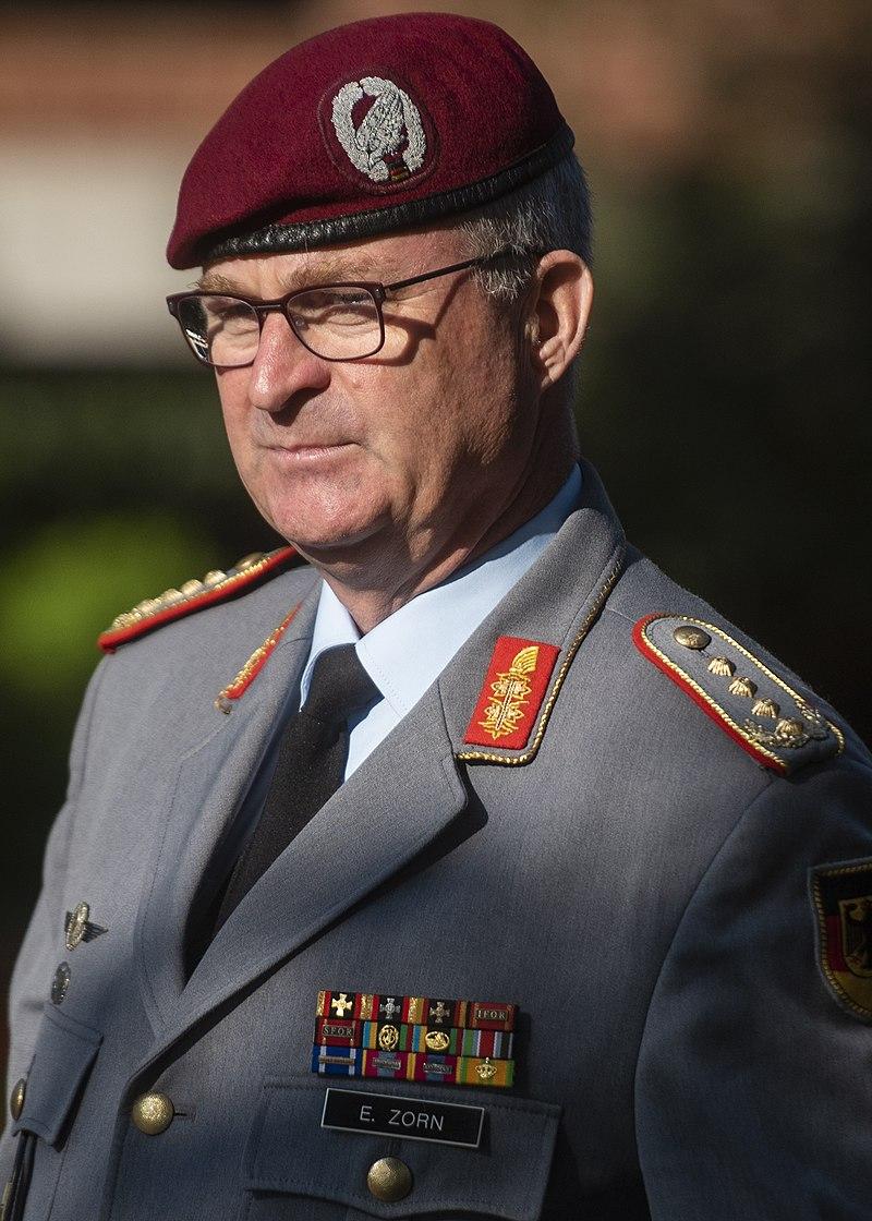 Ο Γερμανός επιτελάρχης Έμπερχαρτ Τσορν.
