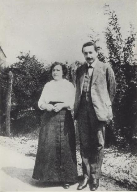 Ο Άλμπερτ Αϊνστάιν και η Μιλέβα Μάριτς το 1905, δύο χρόνια μετά τον γάμο τους.