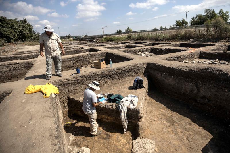 Δυόμιση χρόνια διήρκεσαν οι ανασκαφές στην Εν Εσούρ στο βόρειο Ισραήλ.