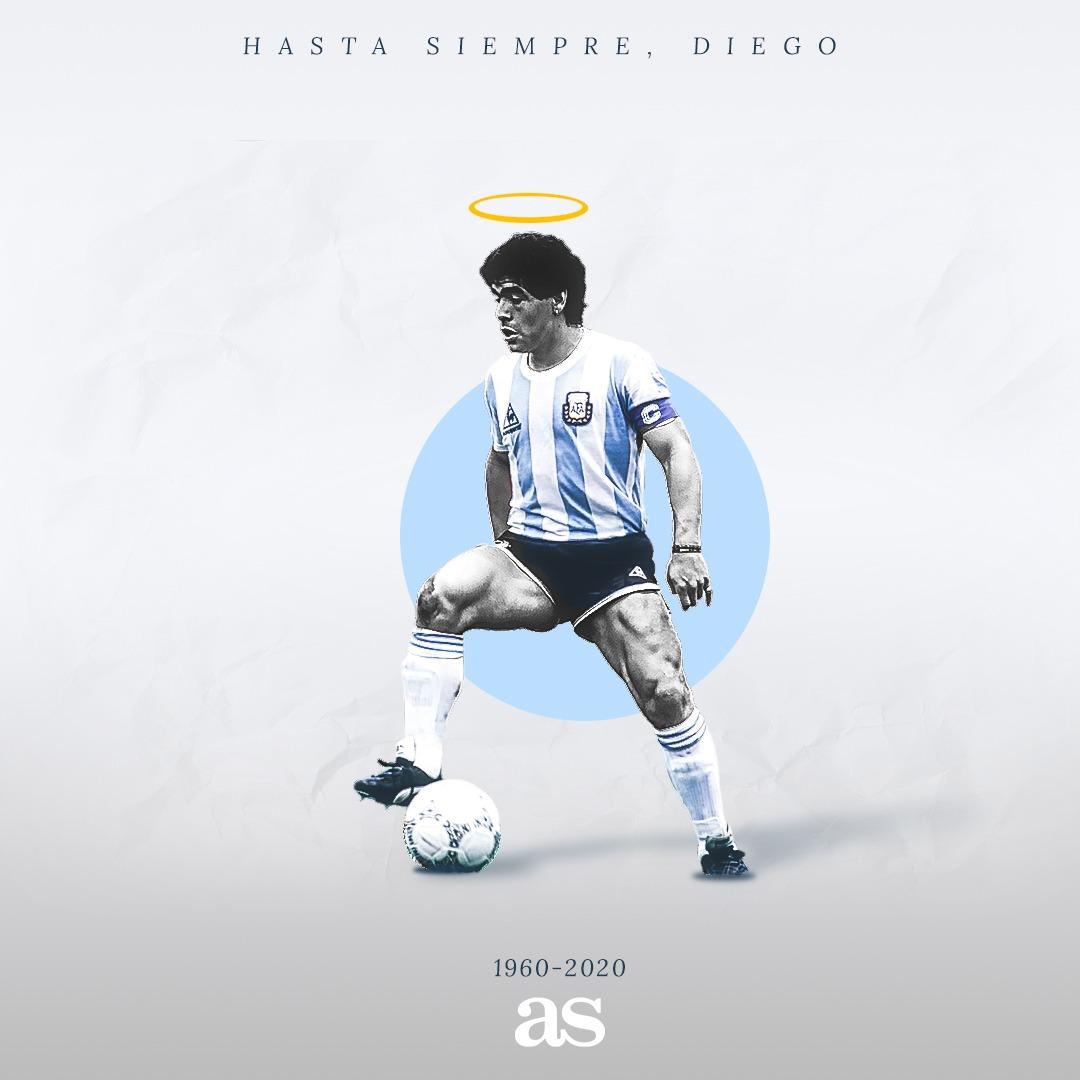 H ισπανική As αποχαιρετά τον Ντιέγκο