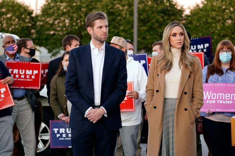 O Έρικ Τραμπ και η σύζυγός του Λάρα