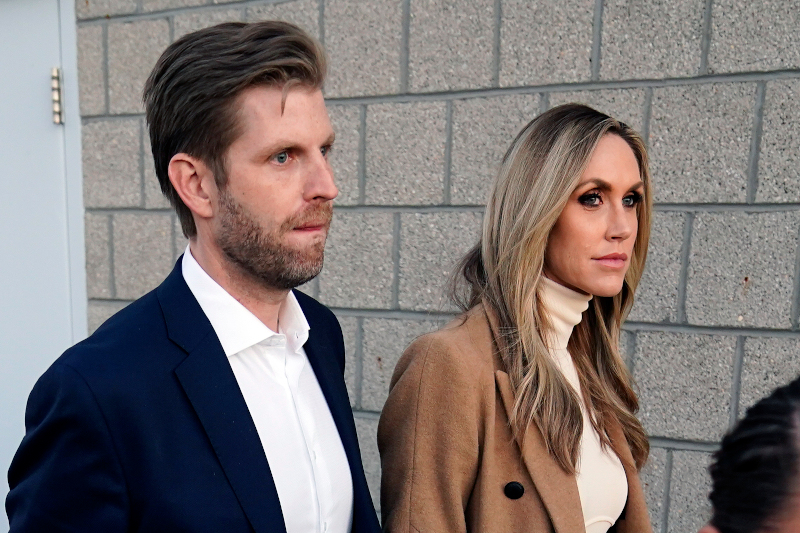 O Έρικ Τραμπ και η σύζυγός του, Λάρα