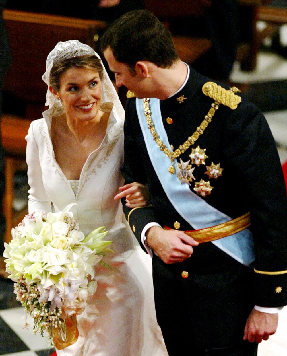 15 χρόνια γάμου κλείνουν ο βασιλιάς Φελίπε και η βασίλισσα Λετίθια της Ισπανίας
