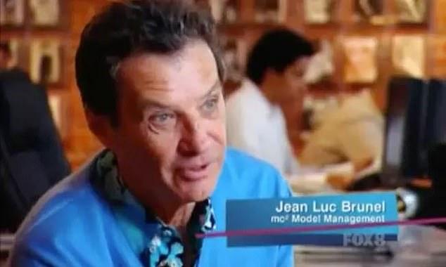 Ο Ζαν Λυκ Μπρουνέλ,  κυνηγός ταλέντων στο μόντελινγκ.