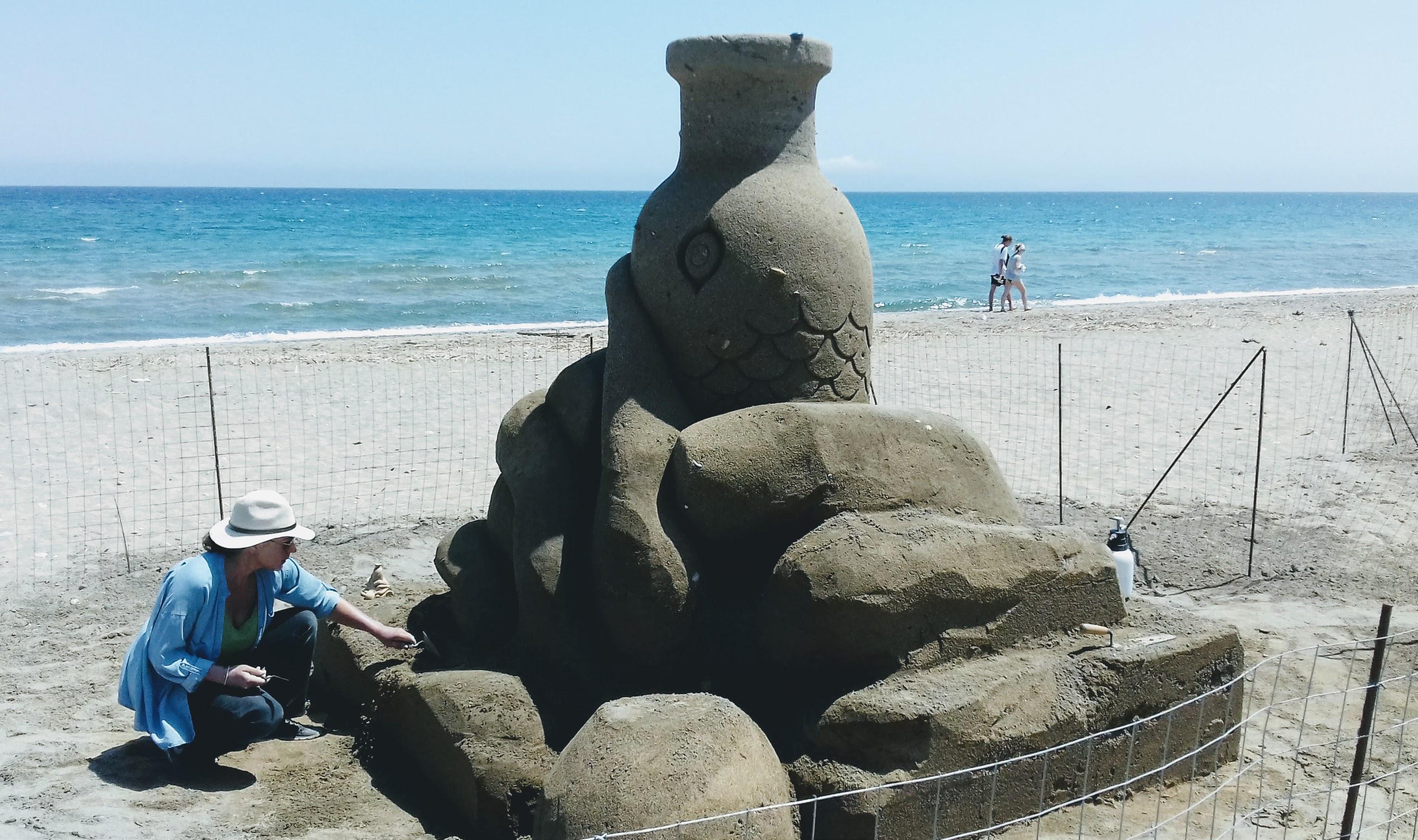 γλυπτό άμμος