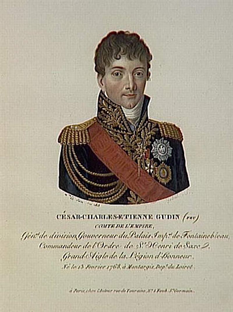 Ο στρατηγός Σαρλ Ετιέν Γκουντέν.