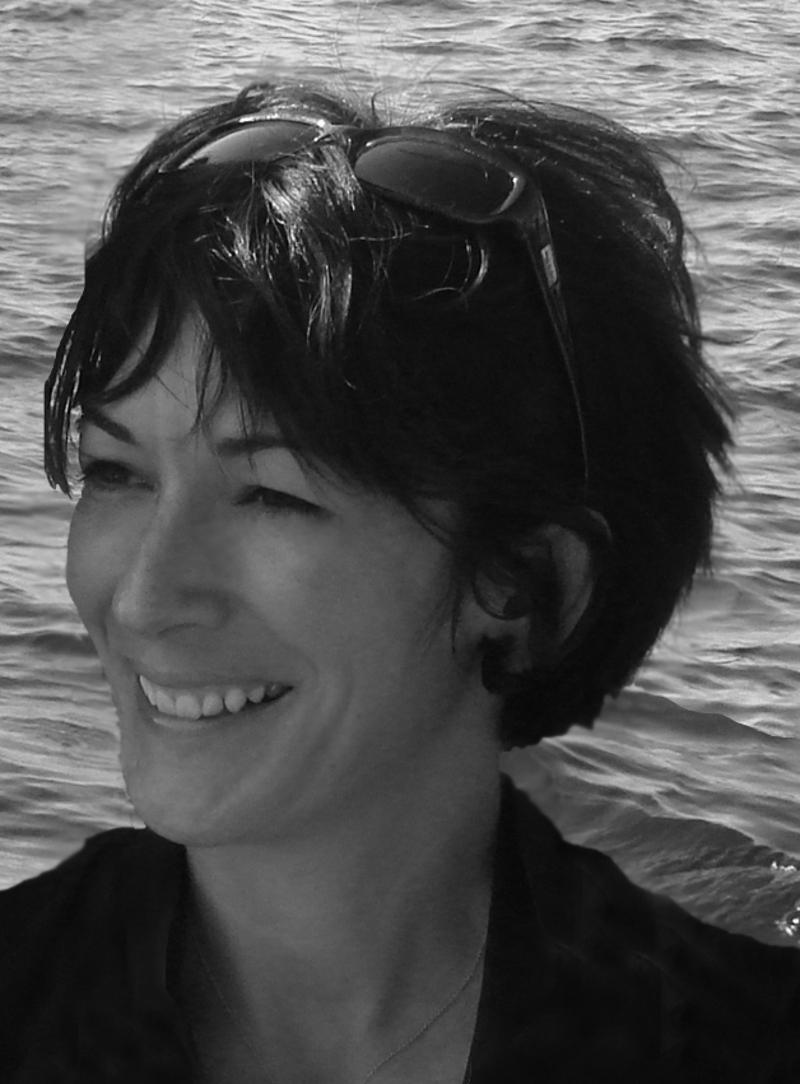 Η Γκισλέιν Μάξγουελ σε μια φωτογραφία του 2007
