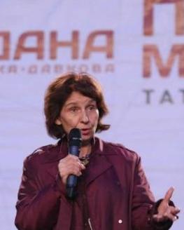 H  προεδρική υποψήφια του VMRO-DPNE, Γκορντάνα Σιλιανόφσκα Ντάκφοβα.