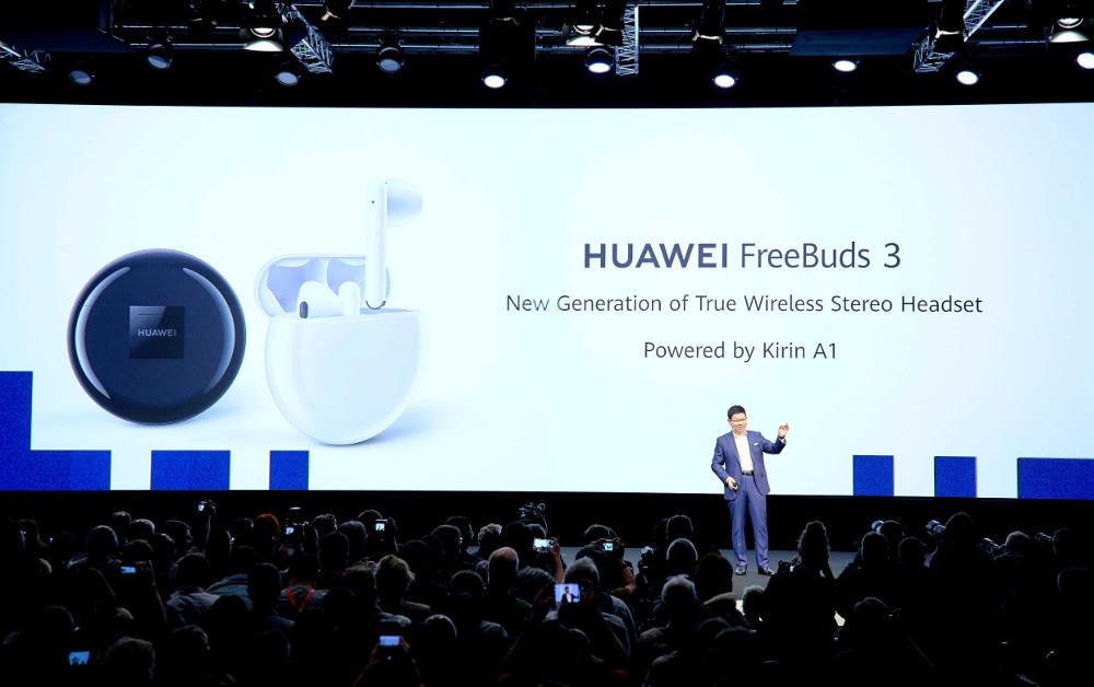 Ανακοίνωση HUAWEI FreeBuds 3
