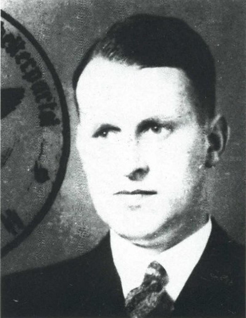 Ο Χανς Κάμλερ σε μια φωτογραφία του 1932.