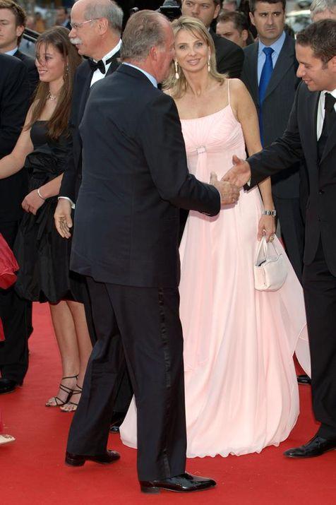 Ο Χουάν Κάρλος με την πρώην ερωμένη του, Κορίνα τσου Ζάιν Βίτγκενσταϊν