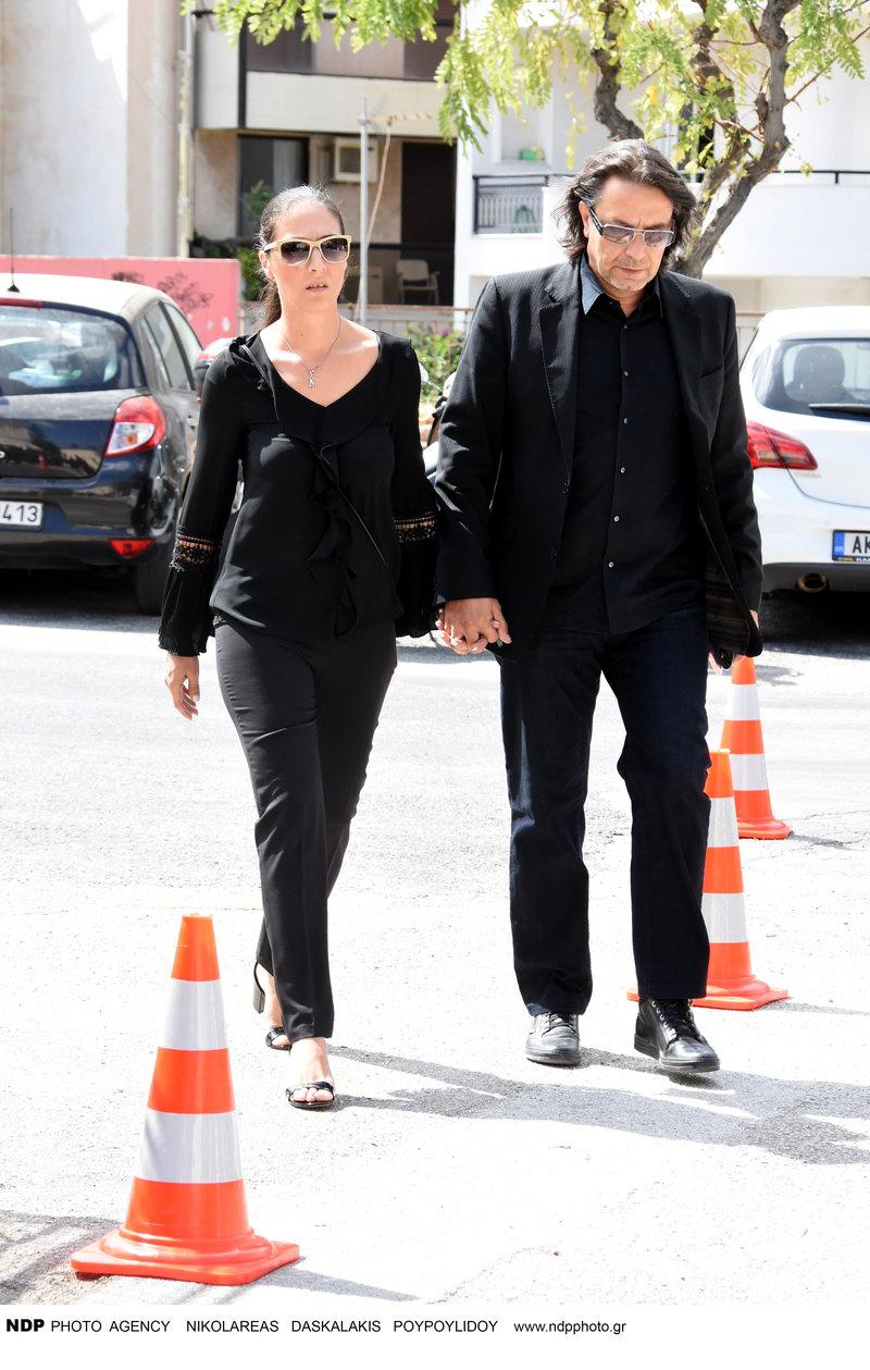 Γιάννης Κότσιρας με την σύζυγό του