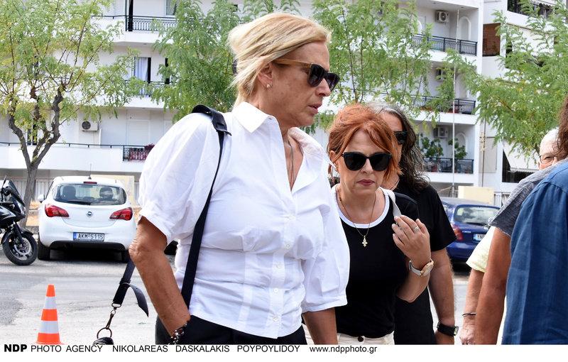 Η Αννα Νταλάρα με την Ελένη Ράντου