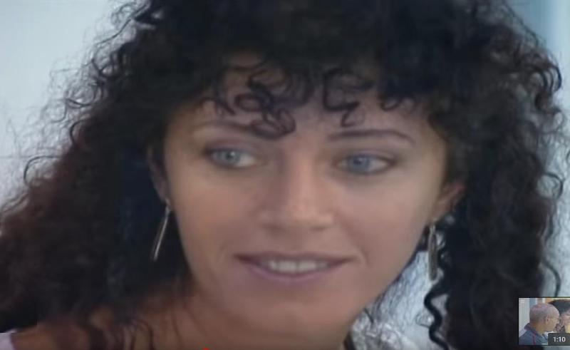H δολοφόνος της ΕΤΑ, Ιντόια Λόπεζ Ριάνο,  στη διάρκεια της δίκης της.