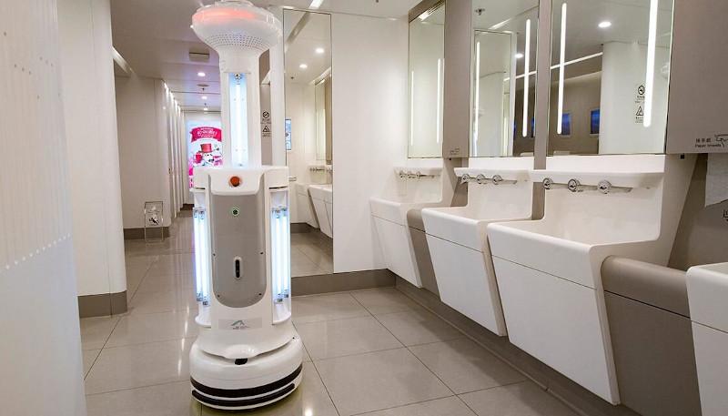 Επιστρατεύονται και ειδικά ρομπότ-καθαριστές για την απολύμανση